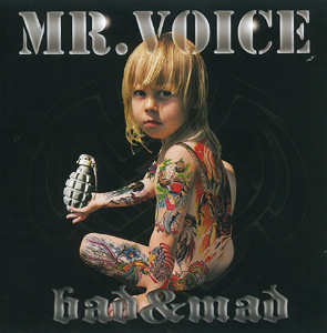 Mr. Voice CD-Cover Bad and Mad